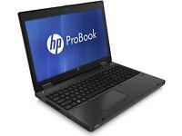 """2012 HP PROBOOK/INTEL CORE i3/8GB RAM/2GB GRAPHICS/500GB HD/DVD-RW/WI-FI/BT/VGA/CAMERA/15.6"""" DISPLAY"""