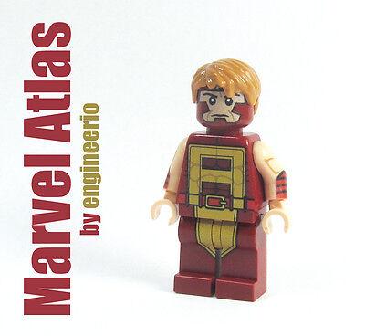 LEGO Custom - Atlas Thunderbolts - Marvel Super heroes mini figure