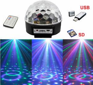 sfera luminosa disco dj discoteca luci colorate effetti