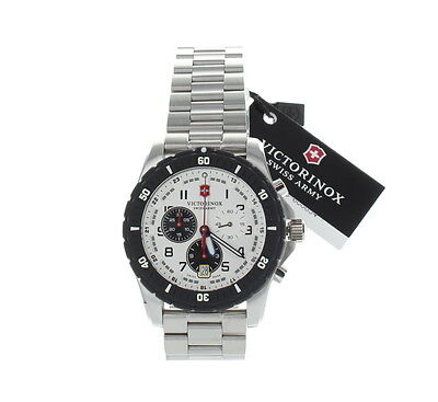 Victorinox Swiss Army Maverick Sport Chrono Stainless Steel Watch for Men 241681