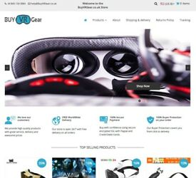 Dropshipping Business For Sale | VR Gear, Tech and VR Accessories