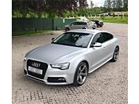 Audi a5 sports back Black edition not BMW Mercedes-Bens Volkswagen replica s5
