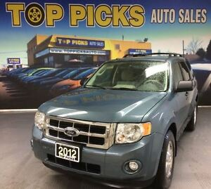 2012 Ford Escape XLT, AWD, V6, POWER GROUP, ONLY 63,000 KMS!