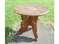 (#352) wooden folding table (Pick up only, Dy4 area)