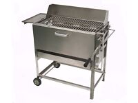 Stainless Steel Charcoal BBQ - Heavy Duty Ex-Display