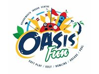 Oasis Fun Bournemouth - Recruiting Now for All Positions