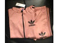 Women pink Adidas tracksuit