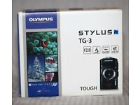 Olympus Tough TG-3 water proof camera