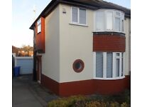 VERY NICE. 3 BED SEMI DETACHED HOUSE FOR RENT! AVAILABLE NOW! SHEFFIELD S12