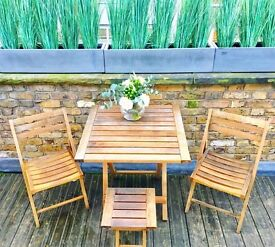 Outdoor Furniture Table & Chairs (Great Condition)