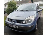Renault Grand Scenic 7 Seater 2.0ltr Petrol Automatic 2005 Blue