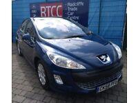 2008 (58 reg), Peugeot 308 1.6 VTi SE 5dr Hatchback, 3 MONTHS AU WARRANTY, £1,695 ONO