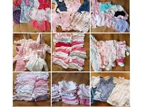 *HUGE* bundle baby clothes (tiny baby, new born and first size)