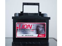 *** As New - Car Battery Lion 063 - Bought £64.99 Sell £35 Great Bargain ***