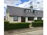 Immaculate 3 bedroom semi-detached 1.5 storey house, Muir of Ord - UNDER OFFER
