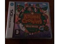 Animal Crossing Wild World Nintendo DS Game