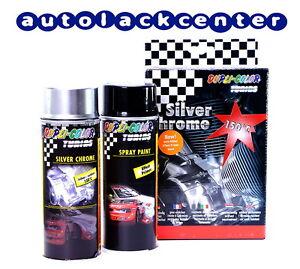 Dupli-Color Silver Chrom Effekt Spray-Set Chromspray Autolack /DC674570