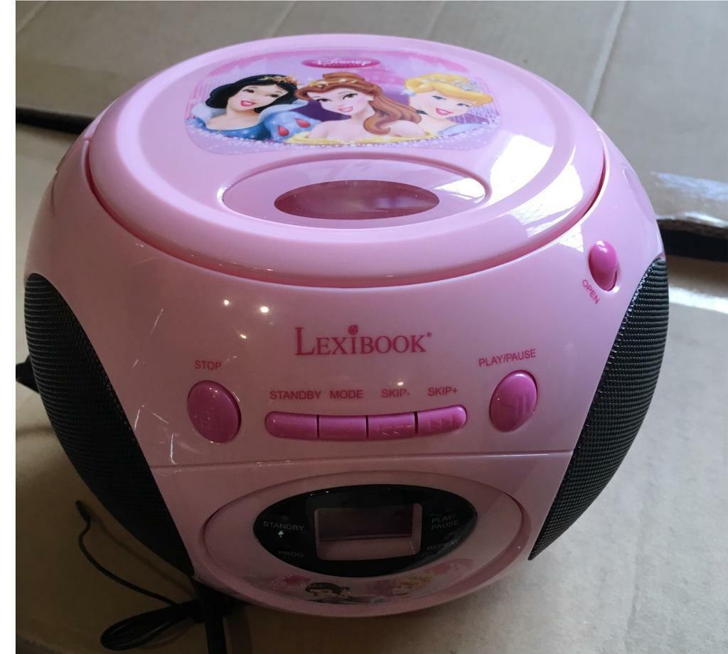 Disney Princess CD player & FM Radio   in Littleover, Derbyshire   Gumtree