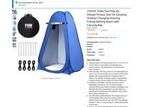 PRIVACY/TOILET TENT - BRAND NEW - NEVER USED
