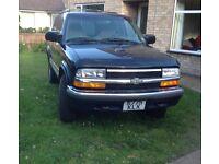 Chevrolet Blazer LS 4x4 LHD. £1900 ONO