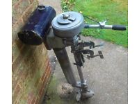 Seagull Outboard 4 HP Engine for Dinghy Boat Tender