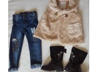 Baby Girl Clothes Age 18-24 months (3 items) Bundle 4