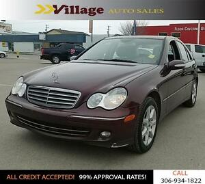 2006 Mercedes-Benz C-Class Sport Leather Interior, Power Sunr...