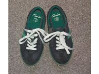 Clarks shoes size 10.5 (brand new with original box)