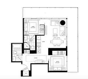 LUXURIOUS 2 BED 2 BATH AT YONGE AND BLOOR - YORKVILLE - UOFT