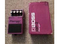 Boss Flanger pedal