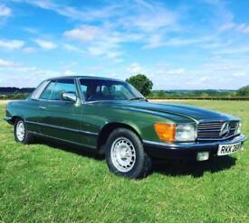 Classic Mercedes 380SLC