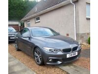 BMW 420i m sport, 64 plate, low mileage , immaculate