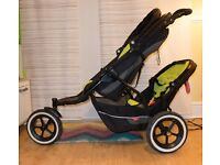 Phil & Teds Explorer Double Buggy with accessories / Open to Offers