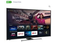 *FREE DELIVERY 50 JVC 4K SMART TV UHD (3840 x 2160p) LED FIRE EDITION TV FREEVIEW - ALEXA