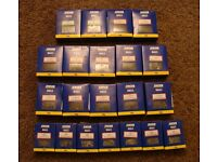 21 boxes of jewson all new