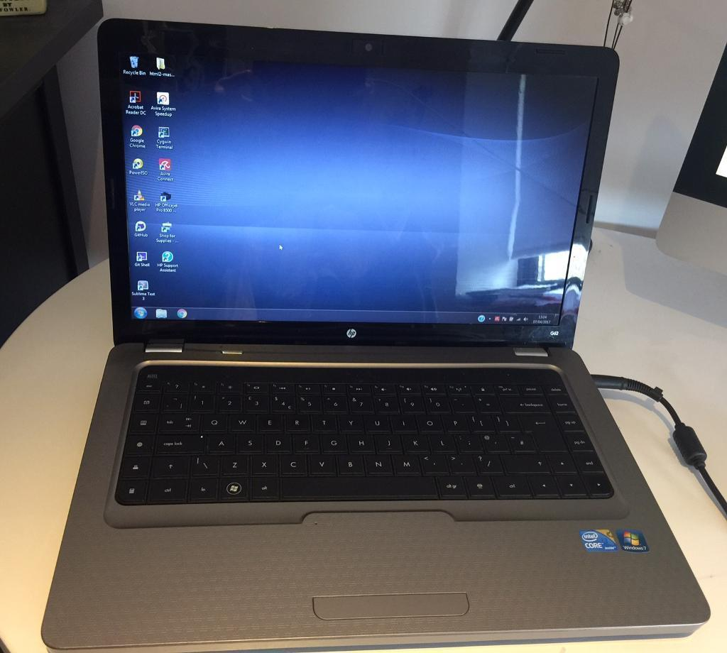 Gold HP G62 I3, 15.6 inch notebook with 3GB ram, 320GB hard driver plus