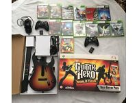 Xbox 360 and accessories + 13 games