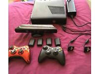 XBox 360 + Kinect, 320Gb, 42 games