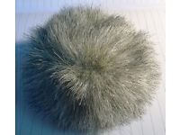 russian dolls fur hat great condition,for a large doll.see images