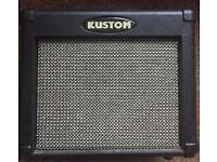 Kustom practice guitar amp