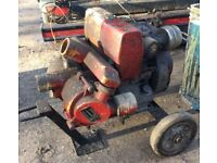 PETTER TYPE AA1 SINGLE CYLINDER DIESEL WATER PUMP PERFECT WORKING ORDER