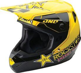 Rockstar helmet + gloves Size L Motocross Enduro off road