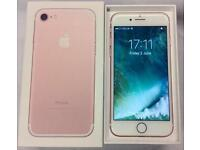 Apple iPhone 7 128gb with Apple care Warranty till 2018 ! Not Samsung phone