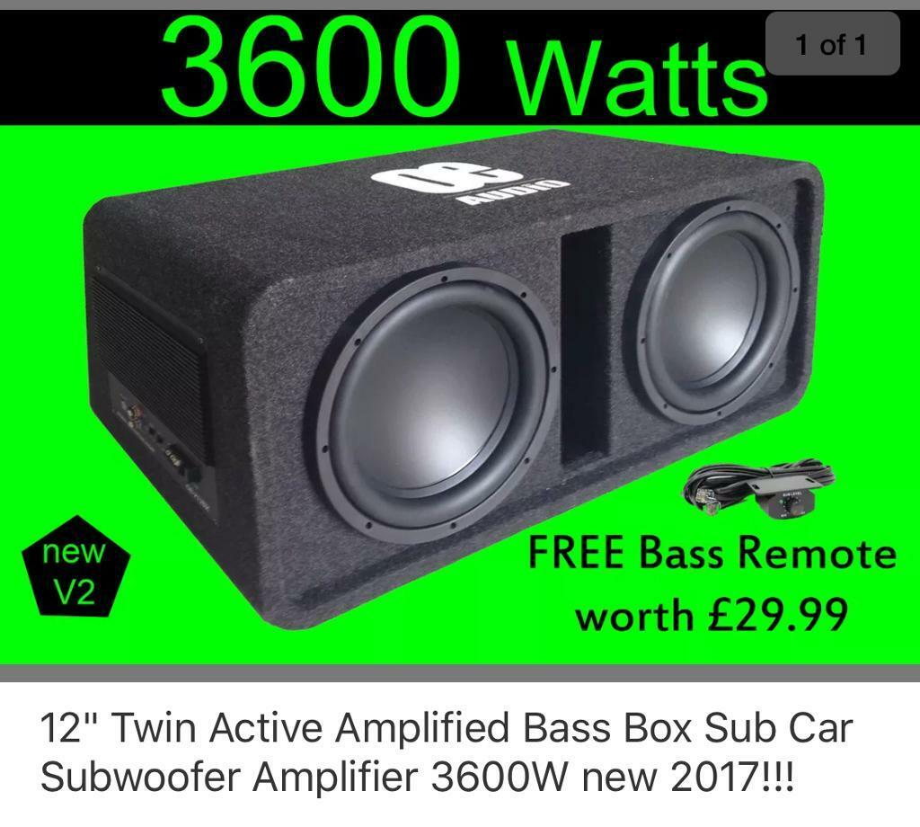Brand new OE Amp and Sub 3600watts Monster