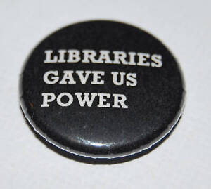 MANIC STREET PREACHERS LIBRARIES GAVE US... 25MM / 1 INCH BUTTON BADGE