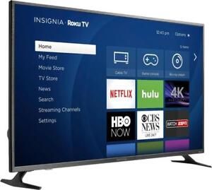 "INSIGNIA 43"" LED 4K ROKU SMART UHDTV *NEW IN BOX*"