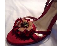 Mimosa scarlet ladies shoes size 8 (7 UK) £40 NEW