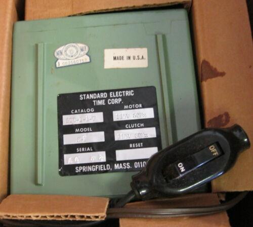 Standard Electric STD-1-1-7 Precision Timer Model S-1 115V