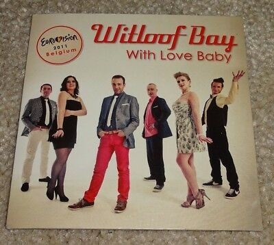 Eurovision Song Contest 2011 Belgium Witloof Bay With Love Baby CD single
