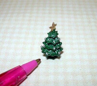 Miniature Tiny 1/144 Scale Christmas Tree for Dollhouse's Dollhouse (TYPE B)